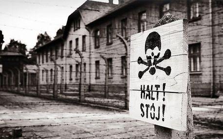 1denní zájezd pro 1 osobu do koncentračních táborů Osvětim a Březinka