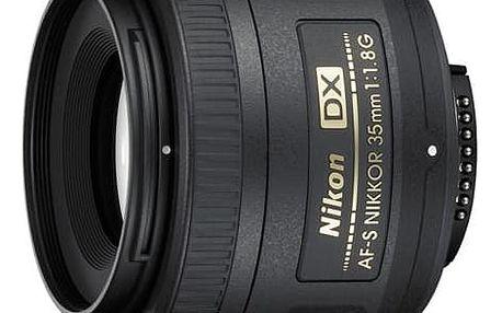 Objektiv Nikon NIKKOR 35MM F1.8G AF-S DX černý