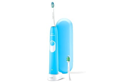 Zubní kartáček Philips Sonicare for Teens HX6212/87 modrý Náhradní hlavice Philips Sonicare DiamondClean HX6062/07 bílý v hodnotě 549 Kč + DOPRAVA ZDARMA