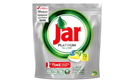 Jar Platinum Citron kapsle do myčky 72 ks