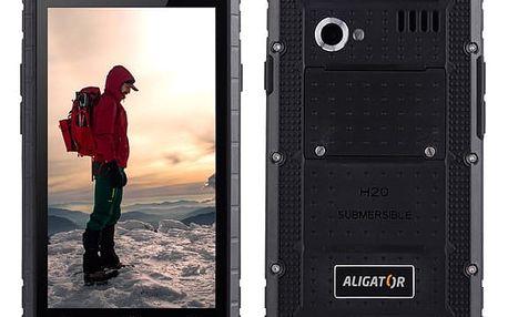 Mobilní telefon Aligator RX460 eXtremo 16 GB Dual SIM černý + dárek (ARX460BB)