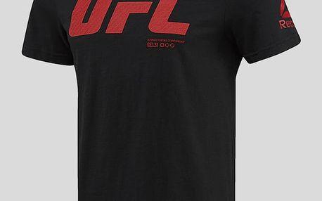 Tričko Reebok UFC FG LOGO SS TEE Černá