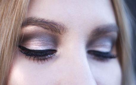 Denní nebo večerní make-up od vizážistky