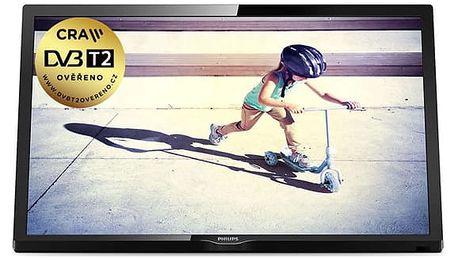 Televize Philips 22PFS4022/12 černá