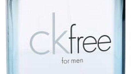 Calvin Klein CK Free For Men 100 ml toaletní voda pro muže