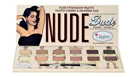 TheBalm Nude Dude Volume 2 Eye Shadow Palette 9,6 g oční stín W