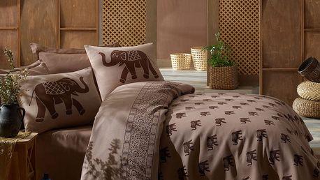 Přehoz přes postel na dvoulůžko s povlaky na polštáře a prostěradlem Fil,200x235cm