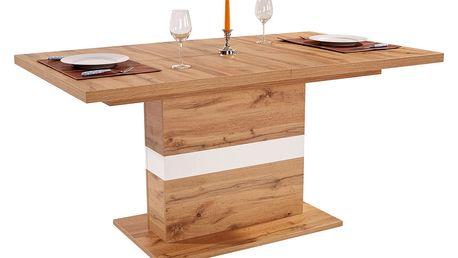 Výsuvný stůl kashmir 160 az, 160/76/90 cm