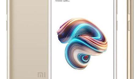 Mobilní telefon Xiaomi Redmi 5A 16 GB Dual SIM zlatý + dárek (17016)