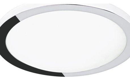 Stropní svítidlo se stříbrným okrajem Lena, průměr30cm