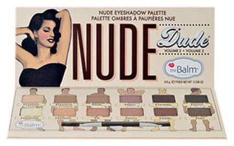 TheBalm Nude Dude Volume 2 Eye Shadow Palette 9,6 g oční stín W