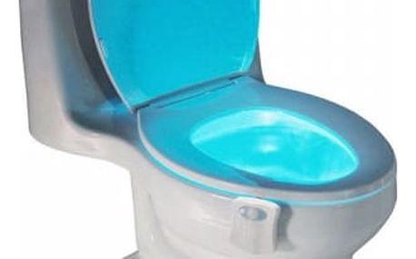LED svítidlo na wc se snímačem pohybu