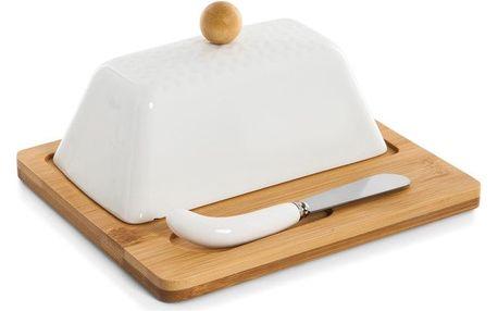 Máslenka s prkénkem a nožem Bambum Una