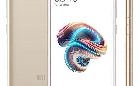 Mobilní telefon Xiaomi Redmi 5A 16 GB Dual SIM (17016) zlatý Software F-Secure SAFE, 3 zařízení / 6 měsíců v hodnotě 979 Kč