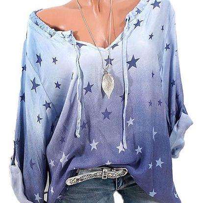 Dámská košile s hvězdičkami - více barev