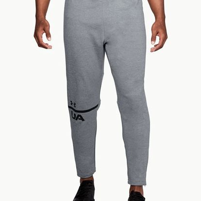 Tepláky Under Armour Tech Terry Tapered Pant Šedá