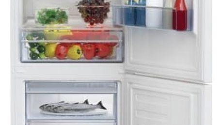 Kombinace chladničky s mrazničkou Beko CSA 340 K30W bílá