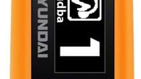 MP3 přehrávač Hyundai MP 366 GB8 FM O oranžový