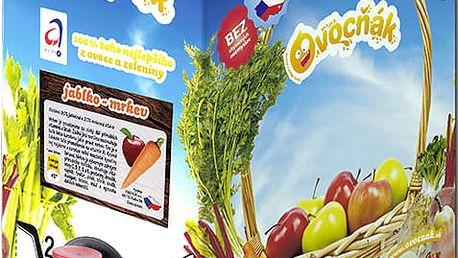 OVOCŇÁK Pyré jablko-mrkev 3 L - ovocná šťáva