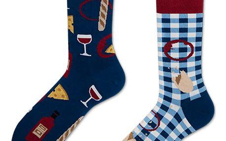 Ponožky Many Mornings Bonjour France,vel.43–46