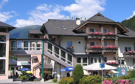 Rakousko - Korutany na 4 až 5 dní, polopenze s dopravou vlastní
