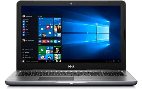 Dell Inspiron 15 5000 (5567) (N-5567-N2-514S) šedý