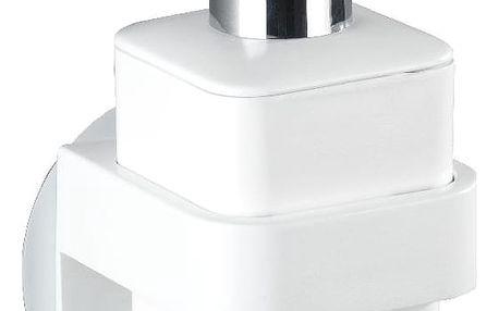 Samodržící nástěnný dávkovač mýdla Wenko Static-Loc