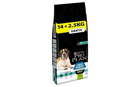 Purina Pro Plan LARGE ADULT Robust Sensitive Digestion Jehně 14 kg + 2,5 kg