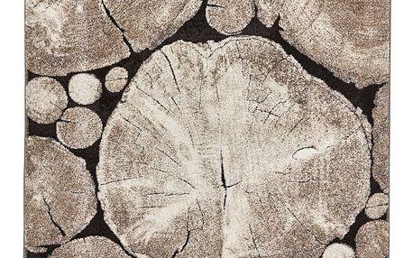 Koberec s obrázkovým motivem dřeva Think Rugs Woodland, 120x170cm
