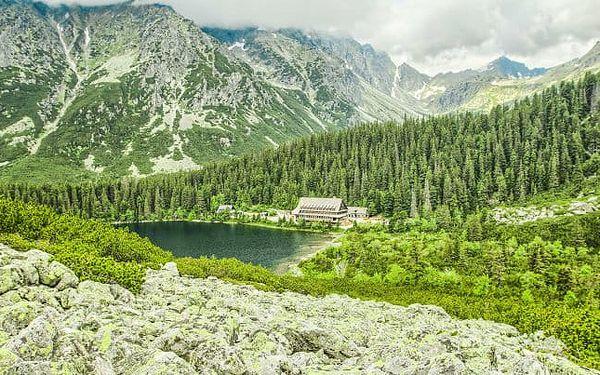 Vysoké Tatry v penzionu Kriváň s polopenzí