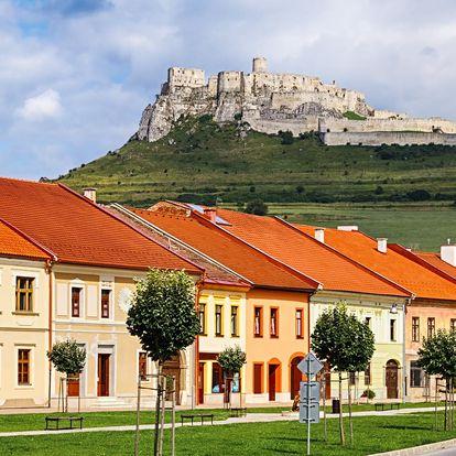 Pobyt ve Slovenském ráji, 2–3 noci se snídaní