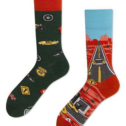 Ponožky Many Mornings Route 66,vel.43–46