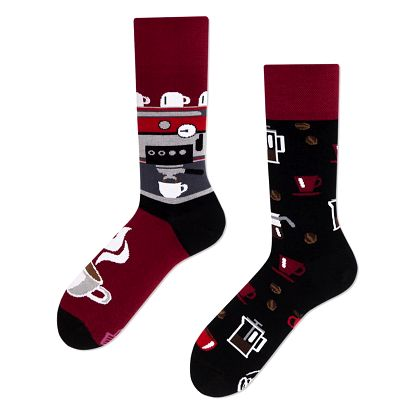 Ponožky Many Mornings Dark Espresso,vel.43–46