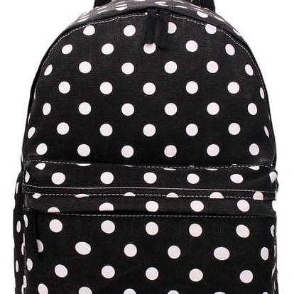 Dámský černý batoh Montey 1401D