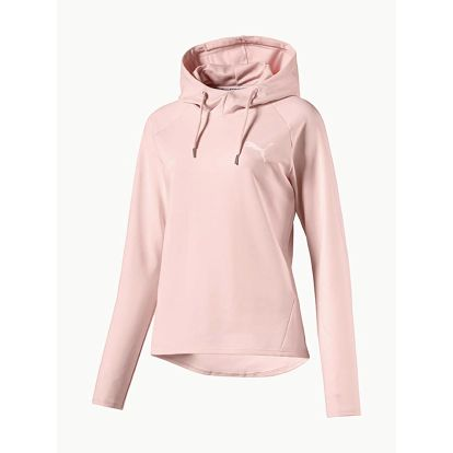 Mikina Puma ACTIVE ESS Hooded Cover up W Béžová