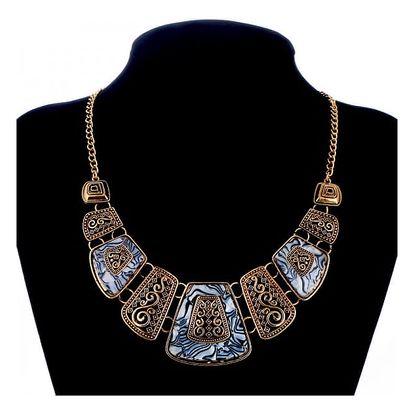 Výrazný vintage náhrdelník - 11 variant