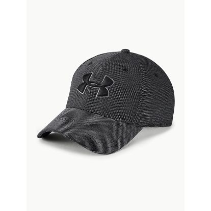Kšiltovka Under Armour Men'S Heathered Blitzing 3.0 Černá