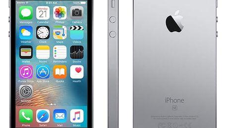 Mobilní telefon Apple iPhone SE 32 GB - Space Grey + dárky (MP822CS/A)