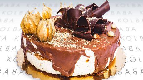 Stracciatella i oříškový: skvělý dort od Kolbaby