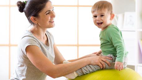 Cvičení rodičů s dětmi od 4 měsíců do 3,5 let
