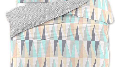 Povlečení z bavlněného saténu DecoKing Pastel Love, 200 x 220 + 2 povlaky na polštáře 70 x 90