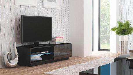 Televizní stolek Livo RTV-120S černá