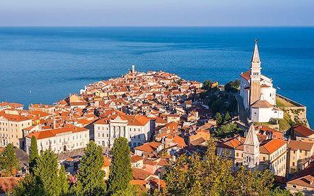 4denní zájezd pro 1 osobu s ubytováním a snídaněmi do Slovinska
