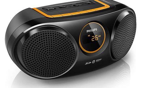 Radiopřijímač Philips AT10 černý