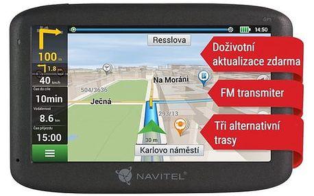 Navigační systém GPS Navitel E500 černá (C2047023)