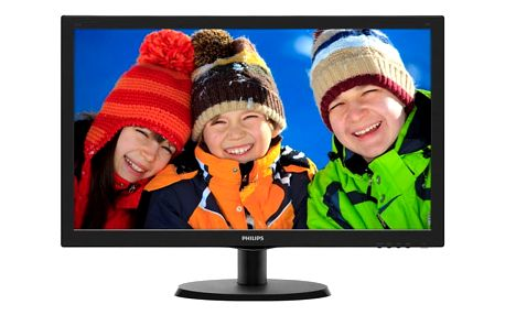 Monitor Philips 223V5LSB2 černý (223V5LSB2/10)