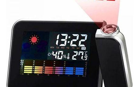 Digitální hodiny s projekční funkcí