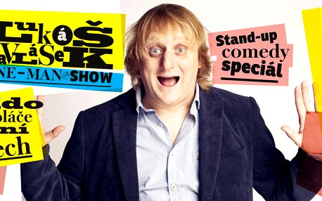 Vstup na stand-up comedy Lukáše Pavláska v Praze