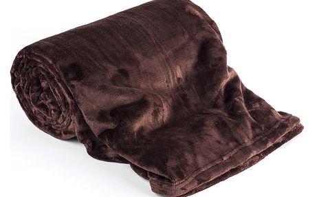 Jahu Deka Light Sleep tmavě hnědá, 150 x 200 cm
