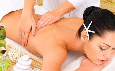 Celotělová aroma masáž éterickými oleji